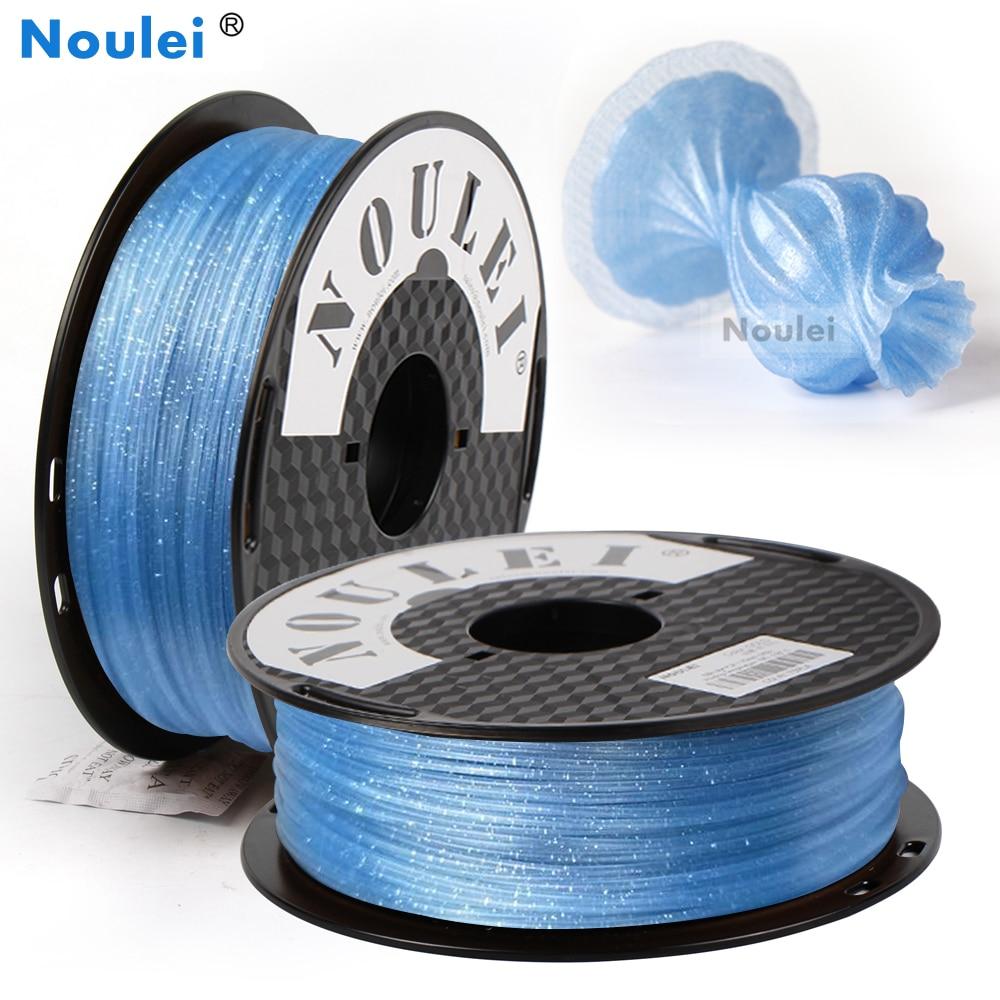 Noulei 3D Printer Filament Pla 1.75mm 1kg Glittering Galaxy Series 3D Printer Material Glittering Sparkling Rich Luster Printer 3D Printing Materials     - title=