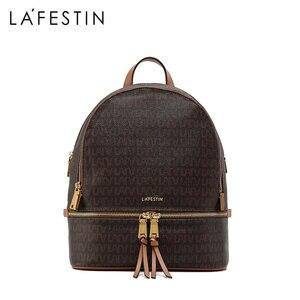 Image 2 - LAFESTIN brand women bag 2019 new popular female backpack fashion travel casual large capacity backpack
