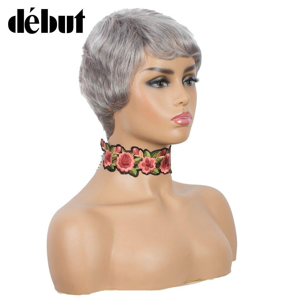 cabelo humano barato remy preto perucas completas
