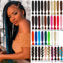 Jumbo Braid Braiding-Hair-Pre-Stretched Bug-Color Synthetic Natifah 165g 82inch Hot-Sale