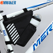 Bike Triangle Top-Tube-Bag Bicycle-Accessorie Pocket Cycling Water-Bottle
