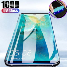 UV Liquid Full Glue Tempered Glass For Samsung Galaxy S20 S10 Plus Lite S20 S10E Note 10 8 9 Plus 5G