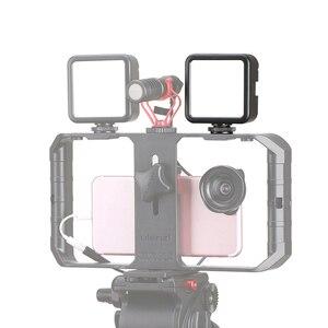 Image 3 - Ulanzi miniluz LED para vídeo VL49, 6W, batería integrada de 2000mAh, iluminación fotográfica de 5500K para cámara DSLR Canon, Nikon, Sony