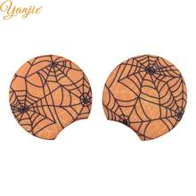 "1 Pair 3.3"" Halloween Minnie Mouse Ears Halloween Festival Spider Snowflake DIY Girls Hair Accessories For Party Boutique Mujer(China)"