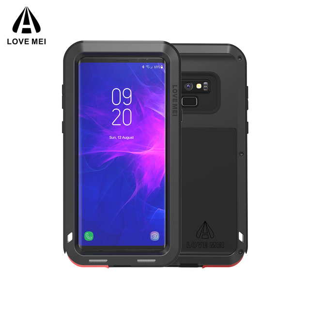 Caso Per Samsung Galaxy Note 8 9 3 AMORE MEI Potente Metallo Armatura Antiurto In Alluminio della Cassa Del Telefono Per Samsung Note 9 4/bordo/FE