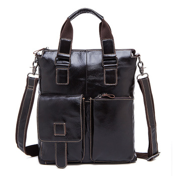 2020 New Genuine Leather Man Portable Layer Cowhide Leisure Time Business Affairs Man Single Shoulder Satchel luxury handbags