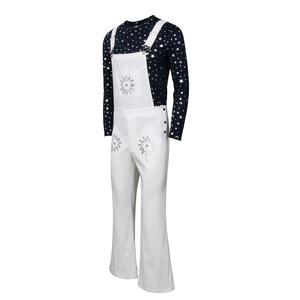 Image 3 - Rocketman disfraz de Halloween de Elton John para adultos, traje de carnaval, pantalones con pechera, Disfraces de Halloween, talla XS XXXL