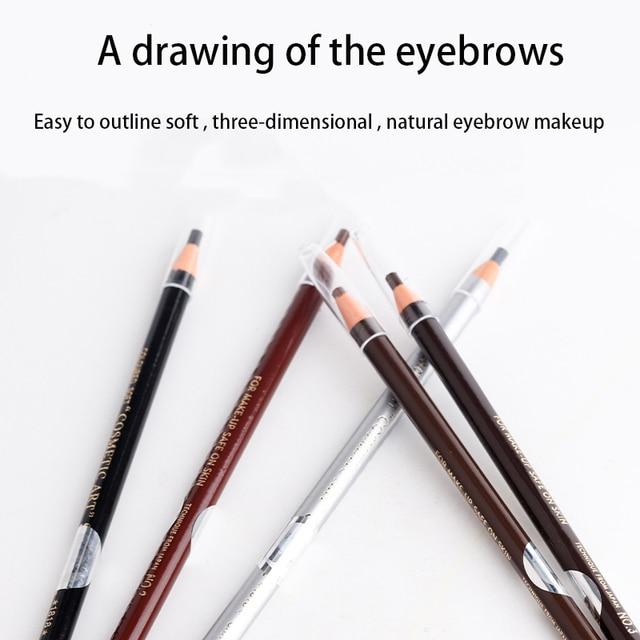 5 Colors Beautiful Waterproof Sweatproof tattoo Eyebrow Pencil Thread eyebrow Pencil make-up Long Lasting 1
