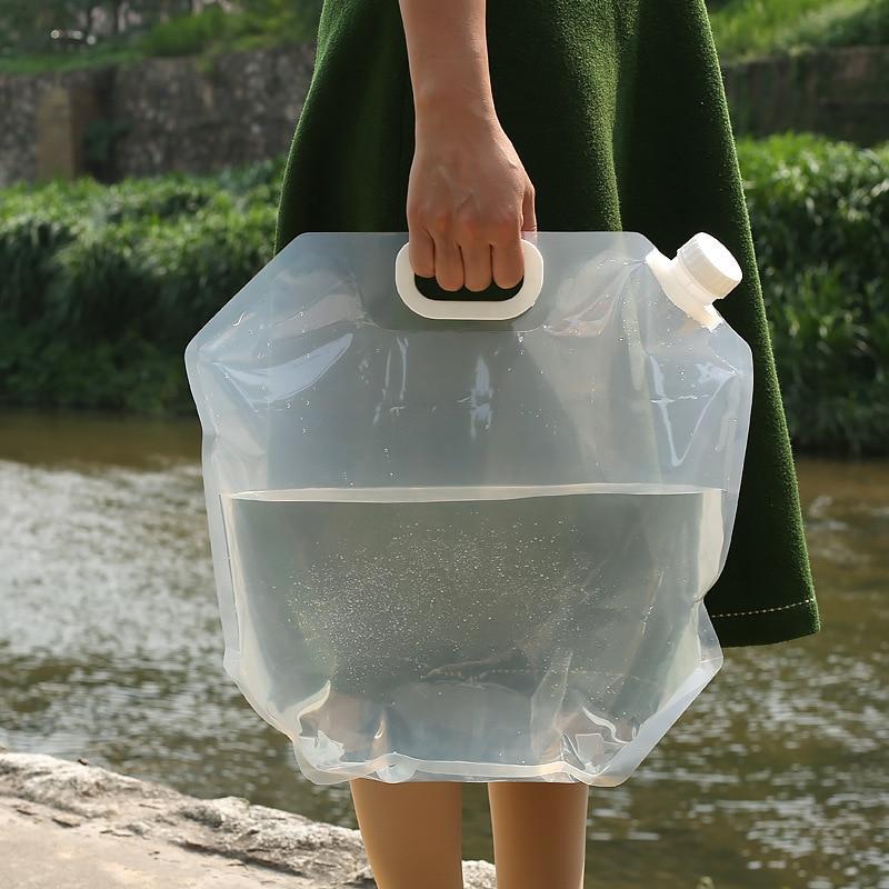 Складная сумка для питьевой воды походный складной органайзер