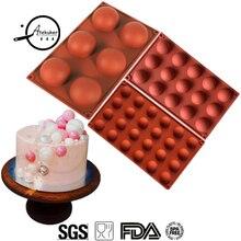 Atekuker 3 шт. силиконовые формы для выпечки муссов, тортов, сделай сам, формы для шоколада, украшения торта, инструменты для выпечки