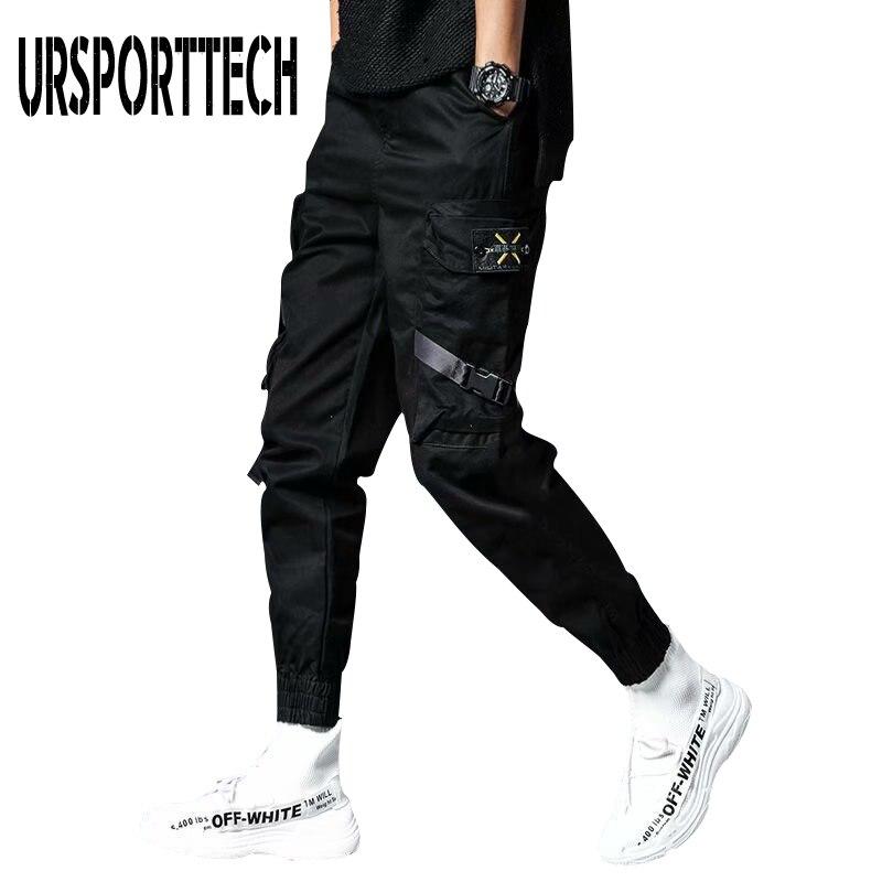 Plus Size Men's Streetwear Pants Hip Hop Sweatpants Joggers Trousers Tactical Mens Pants Cargo Harem Pants Men pantalones hombre