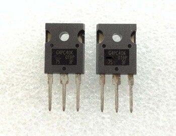 10 sztuk/partia IRG4PC40K G4PC40 IRGPC40K IRG4PC40KD IGBT FET Transistor42A 600V TO-3P