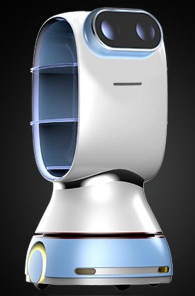 Стерилизация и дезинфекция доставка робот навигация антивирусное автономное Предотвращение препятствий голосовое оповещение робот AI