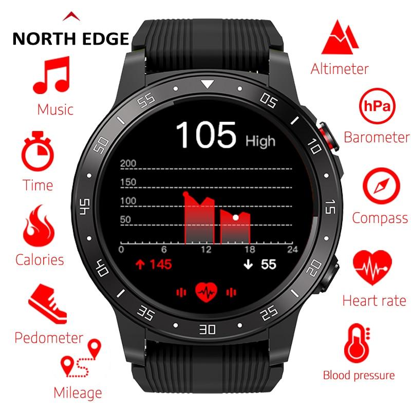 Permalink to Northedge GPS Smart Watch Running Sport GPS Watch  Phone Call Smartphone Waterproof Heart Rate Compass Altitude Clock