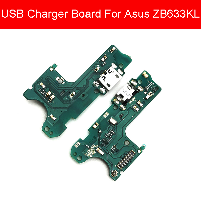 USB Jack Port Charger Board For Asus ZenFone Max M2 ZB633KL Charging Dock Connector Flex Cable Board Replacement Parts