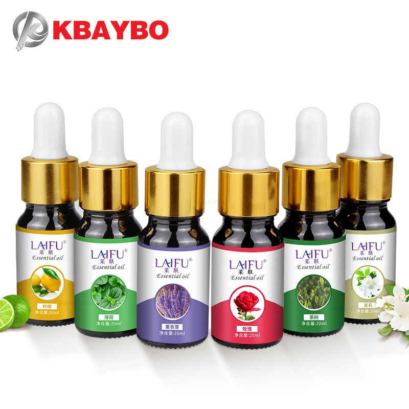 20ml Laifu Water-soluble Pure Plant Essential Oil For Aromatherapy Organic Essential Oil Relieve Body Stress For Aroma Diffuser