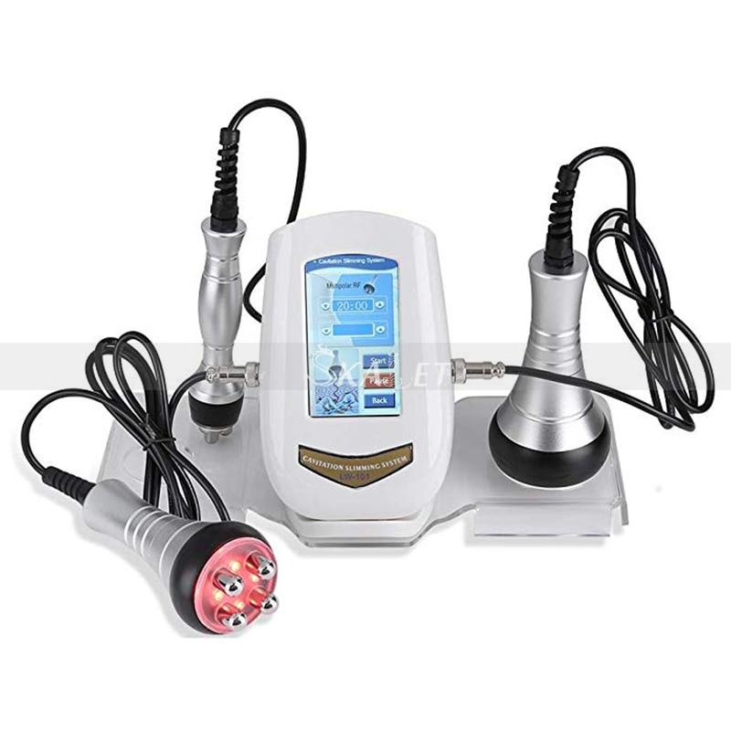 Ultrasound Cavitation Machine 40K Ultrasonic Cavitation RF Vaccum Slimming Body Weight Loss Equipment