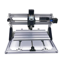 Disassembled pack mini CNC 1610 PRO without laser or with laser head laser engraver engraving machine with GRBL control