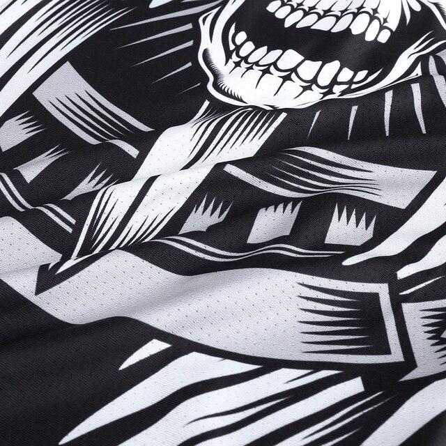 New Design Headband Skull Neck Gaiter Head Scarves Ear Cover Face Shield Scarf Breathable Bandana Half Face Guard Men Girls 2