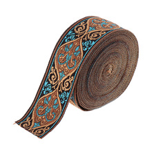 5 Meters Jacquard Trim Sew Ribbon Fabric Ribbons Medieval Fabric Ribbon Renaissance Trim for Sewing Crafts Accessories