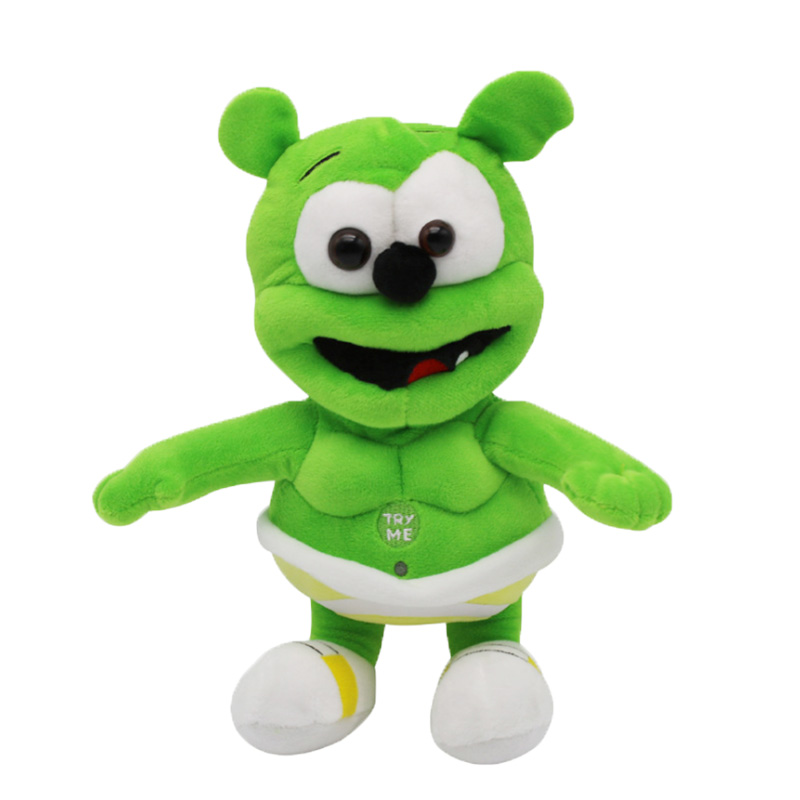 30cm  Gummy Bear Voice Pet Plush Dolls Baby Singing Toys Funny Doll For Children Best Gifts New Arrival