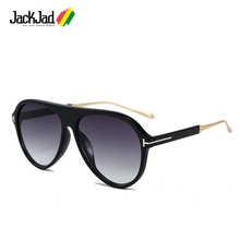 JackJad 2020 Fashion Classic NICHOLAI Style T Metal Sunglasses Men