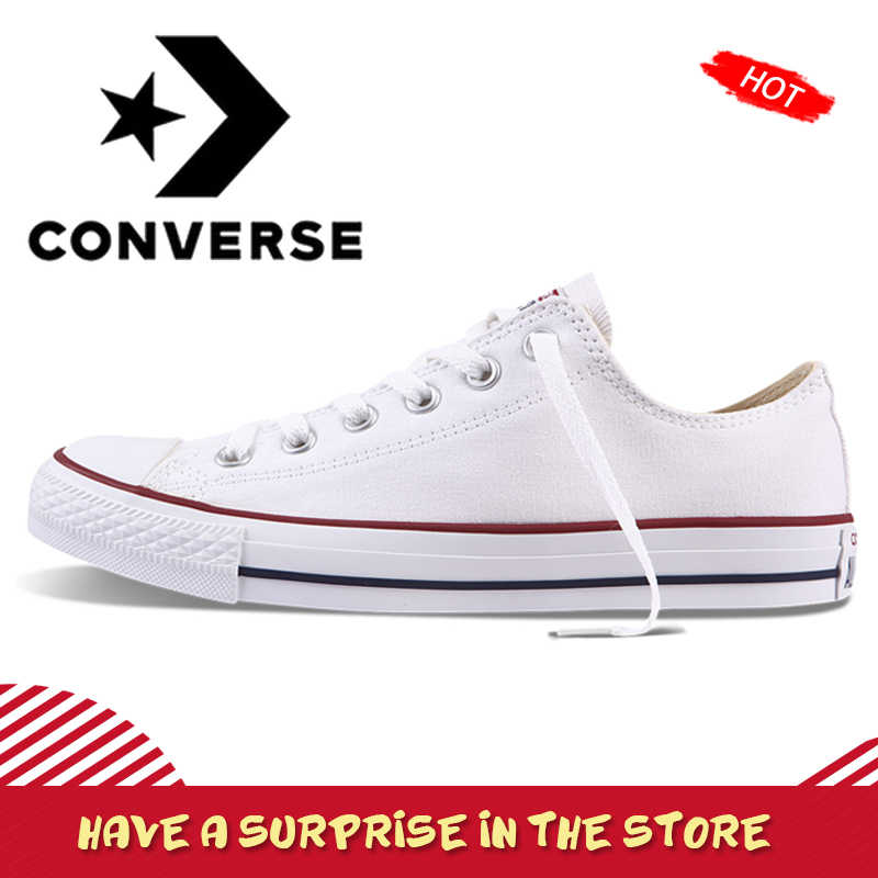 Converse Men and Women Classic Canvas Skateboarding Shoes