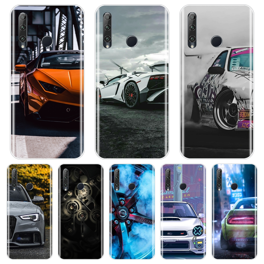 Car SportsCar Tyre Cool Soft Back Cover For <font><b>Huawei</b></font> <font><b>Honor</b></font> 8S 8A Pro V20 Phone <font><b>Case</b></font> Silicone For <font><b>Huawei</b></font> <font><b>Honor</b></font> 20 Lite Pro 10i <font><b>20i</b></font> image