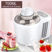 700 мл бытовой полностью автоматический аппарат для приготовления мягкого твердого мороженого, умный сорбет, фруктовый йогурт, льдогенератор, десерт