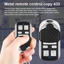 433 МГц металлический дубликат CAME пульт дистанционного управления для гаражного автомобиля на домашние ворота раздвижные двери MYDING