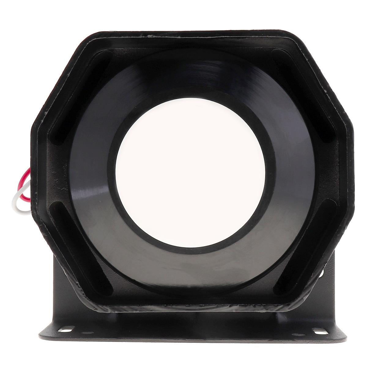 Universal 12V 200W Compact Loud Speaker PA System Emergency Warning Auto Car Siren Horn