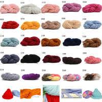 Hilo de ganchillo suave para tejer a mano, bufanda de lana para tejer a mano, suéter CJ09, 250g, 1 ud.