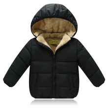 купить 2019 new children's clothes snow thick coat baby boy girl winter warm down jacket fashion Kids hooded jacket Parkas 2-6 T boys по цене 1320.86 рублей