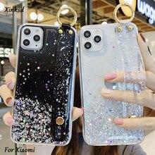 Wrist Strap Soft TPU Case For Xiaomi Mi