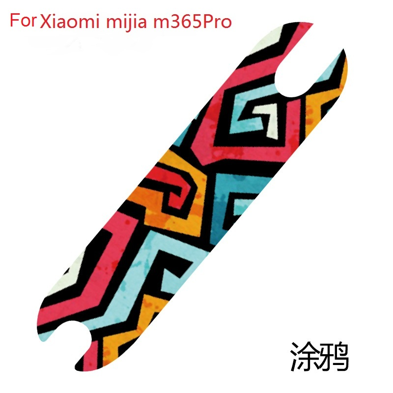 Newest DIY Scooter Pedal Footboard Sandpaper Sticker For XIAOMI Mijia M365 pro Electric Skateboard Anti slip Protective Stickers in Scooter Parts Accessories from Sports Entertainment