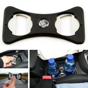 Lightweight Bottle Opener Useful Durable Car Use For Golf/Jetta/MK5/MK6/GTi ABS Cup Holder Divider Stainless Steel Safety Buckle(China)