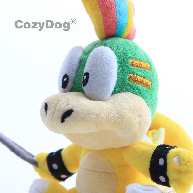 18 23cm Mario Bowser / Koopa Plush Doll Toys Lemmy Roy