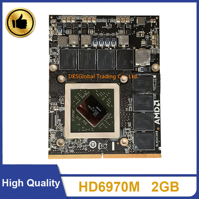 Original HD6970 HD6970M HD 6970M 2GB Video Card For Apple IMac 27