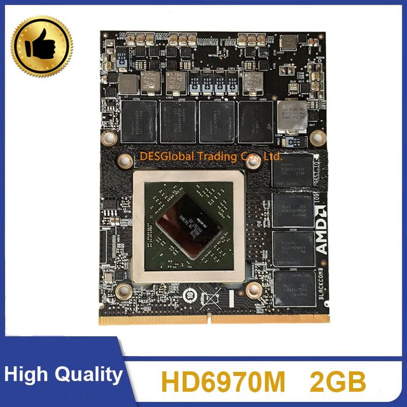 Original HD6970 HD6970M HD 6970M 2GB Video Card For Apple IMac 27