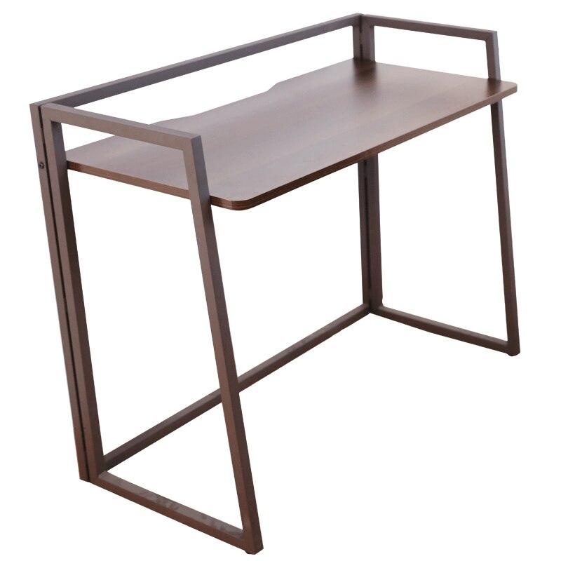 Folding Desk, Small Household Computer Desk, Desktop, Household Desk, Simple Balcony Table, Simple Folding Table