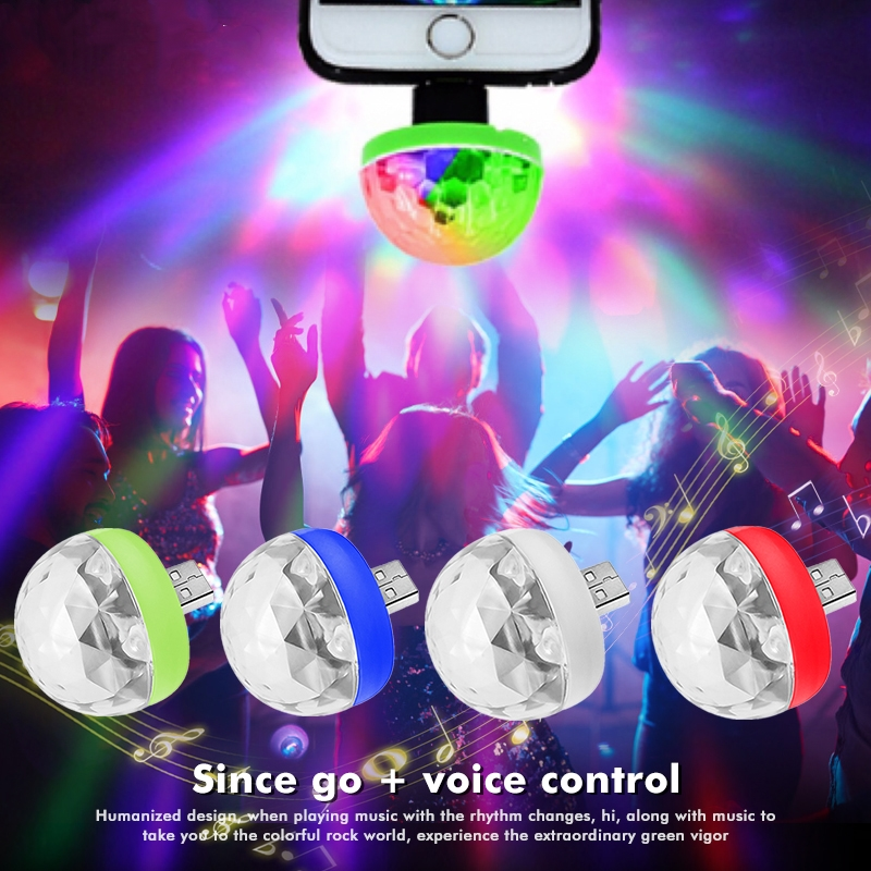 Car USB Atmosphere Light DJ RGB Mini Colorful LED Lamp For Chevrolet Chevy Corvette Camaro Aveo Cruze Malibu Captiva Trax Niva image