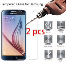 2 pcs! Hard Tempered Protective Glass for Samsung J2 Pro 2018 J1 Ace Nxt Phone Screen Protector on Galaxy J1 Mini Prime tpu pattern case for samsung galaxy j1 mini cover j105 j105h silicon phone case for samsung j1 mini j1 nxt duos phone bags shell
