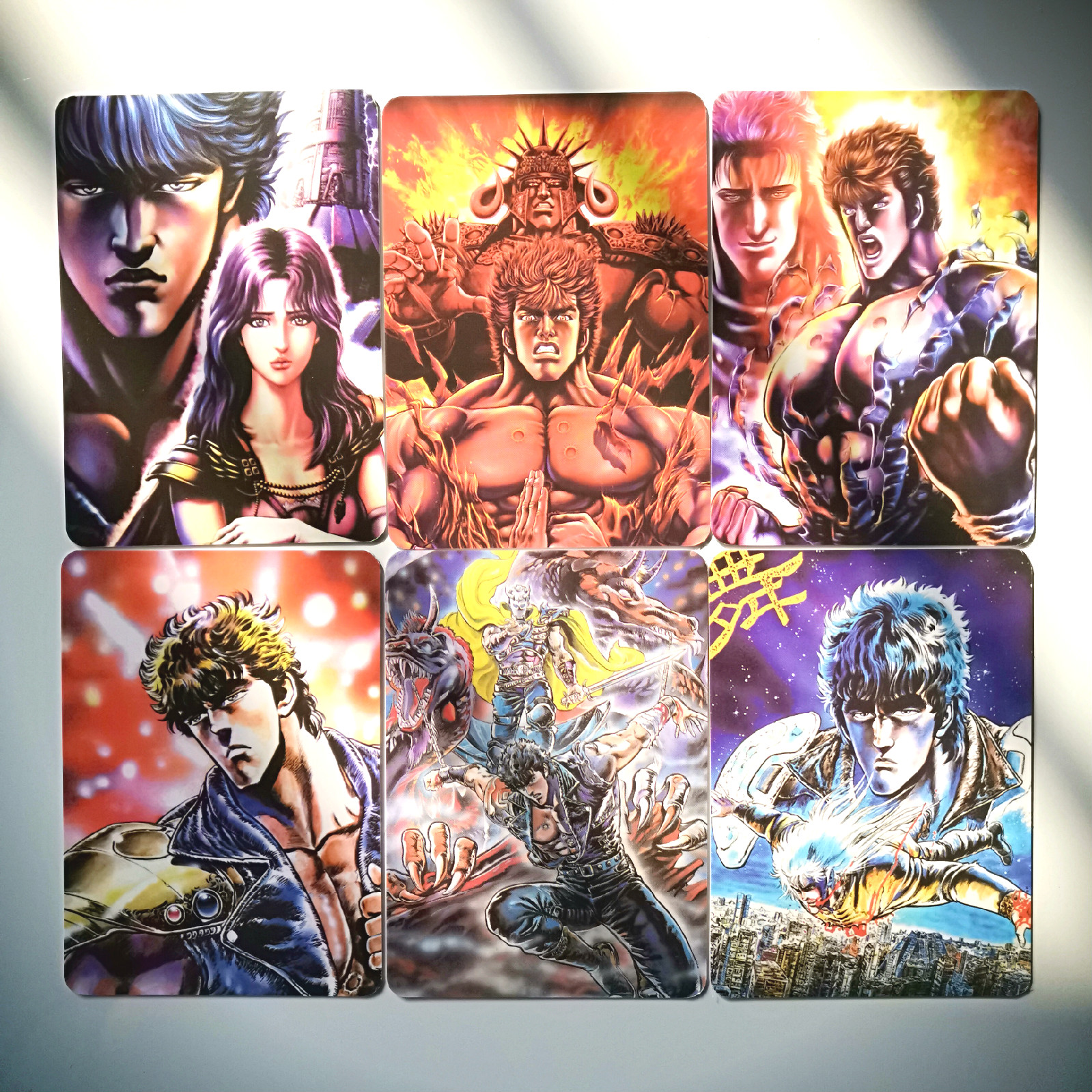 36pcs/set Fist Of The North Star Toys Hobbies Hobby Collectibles Game Collection Anime Cards