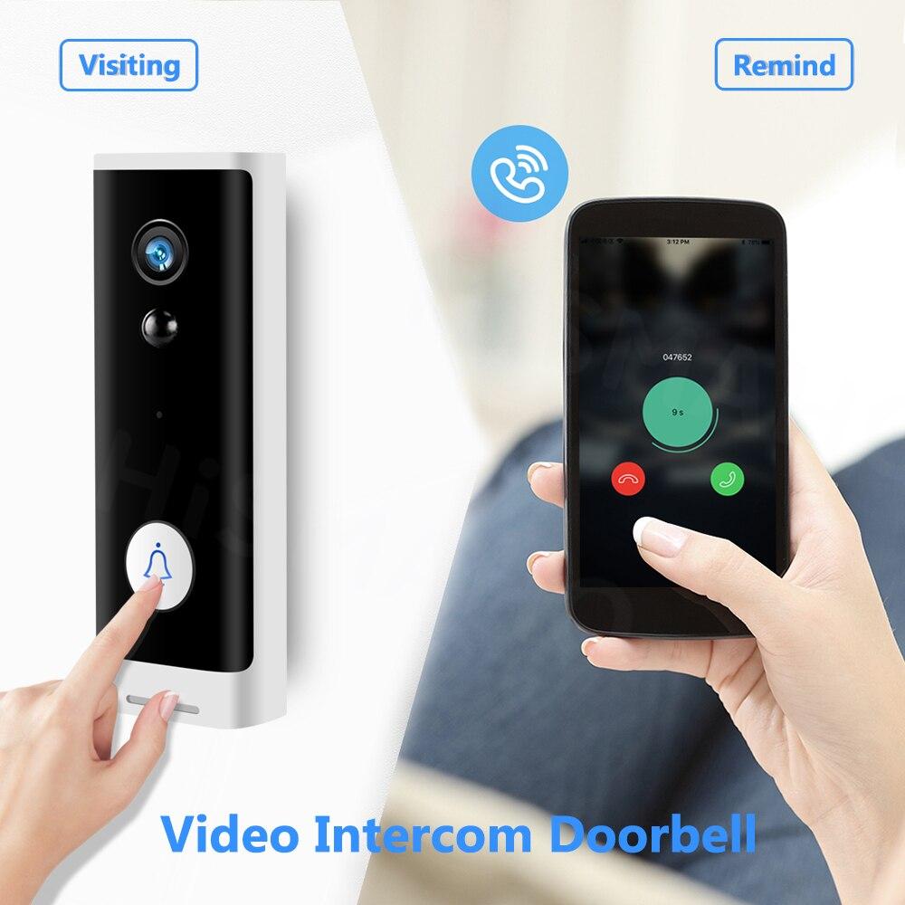 Bell Camera Audio-Intercom Video Tuya Cloud-Service Smart 1080P Wireless Home-Monitor