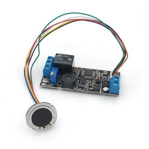 Image 1 - K202 + R502 DC12V منخفضة استهلاك الطاقة بصمة لوحة تحكم + R502 وحدة بصمة اليد