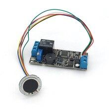 K202 + R502 DC12V carte de contrôle par empreinte digitale