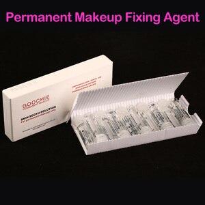 Image 1 - Goochie agente de alongamento de tatuagem, maquiagem permanente de sobrancelhas e lábios, solução suave, agente indolor/fixador de tatuagem