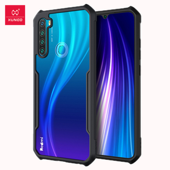 Case For Xiaomi Redmi Note 8T Case Shockproof Transparent Protective Case Soft Back Cover Black Xundd For Redmi Note 8 T Cover