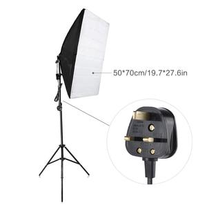 Image 4 - Andoer Photography Studio Cube Umbrella Softbox Light Lighting Tent Kit Photo Video * Tripod Stand 2 * Softbox * Carrying Bag