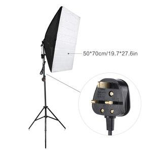 Image 4 - Andoer التصوير استوديو مكعب مظلة سوفتبوكس ضوء الإضاءة مجموعة أدوات الخيمة صور فيديو * حامل ثلاثي القوائم 2 * سوفتبوكس * حمل حقيبة